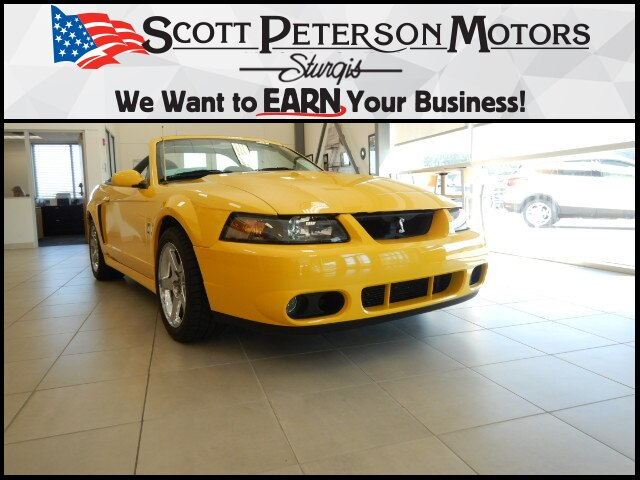 Pre-Owned 2004 Ford Mustang Cobra